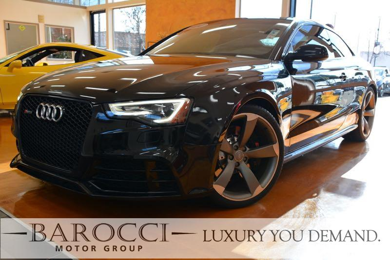 2014 Audi RS 5 quattro AWD  2dr Coupe 7 Speed Auto Black This is an immaculate one owner 2014 Au