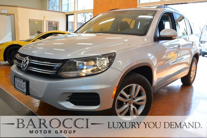2015 Volkswagen Tiguan S 4Motion AWD  4dr SUV 6 Speed Auto Silver Black Up for sale is an outst