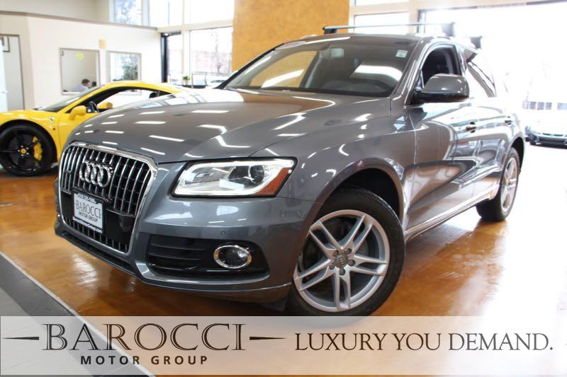2016 Audi Q5 20T quattro Premium Plus AWD 8 Speed Auto Gray This is an exquisite one owner 2016