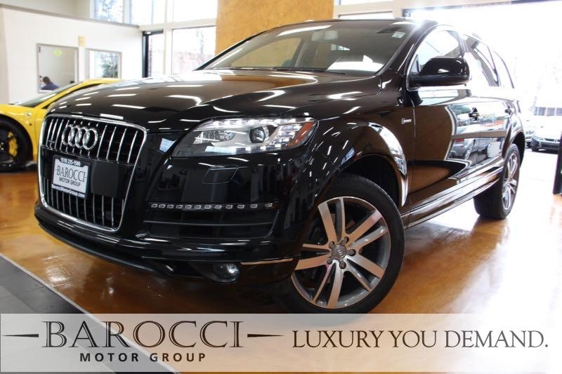 2015 Audi Q7 30T quattro Premium Plu AWD 8 Speed Auto Black Beige Up for sale is a fabulous on