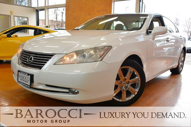 2009 Lexus ES 350 Base 4dr Sedan 6 Speed Auto White Beige Luxury You Demand Child Safety Door