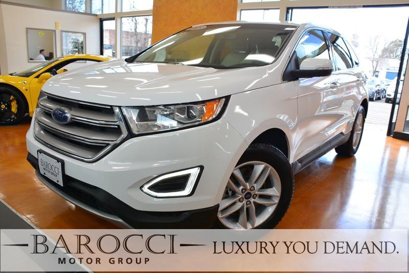 2015 Ford Edge SEL AWD  4dr SUV 6 Speed Auto White We are proud to offer an immaculate one owner