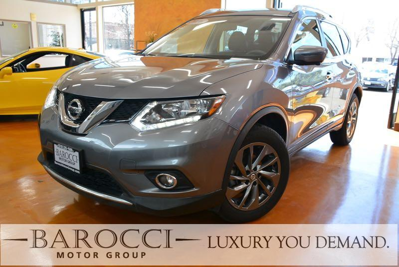 2016 Nissan Rogue SL AWD  4dr Crossover Continuously Variable Transmission Gray We are pleased t