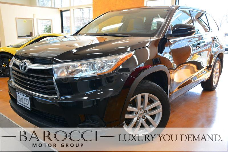 2015 Toyota Highlander LE AWD  4dr SUV 6 Speed Auto Blue Up for sale is a superb one owner 2015