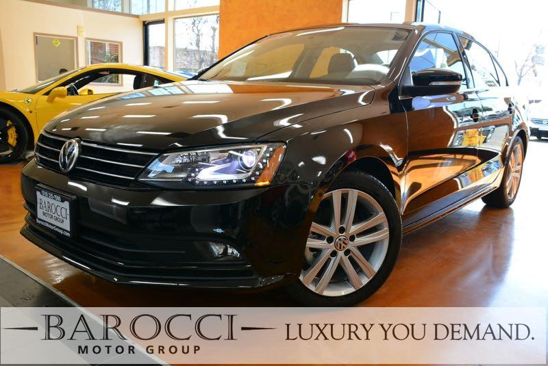 2015 Volkswagen Jetta TDI SEL 4dr Sedan 6A 6 Speed Auto Black We are proud to offer a wonderful