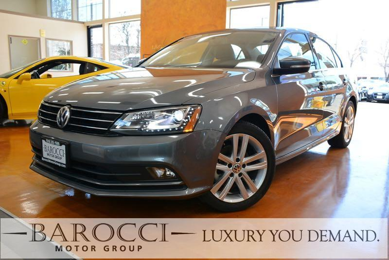 2015 Volkswagen Jetta TDI SEL 4dr Sedan 6A 6 Speed Auto Gray Up for sale is a fabulous one owner