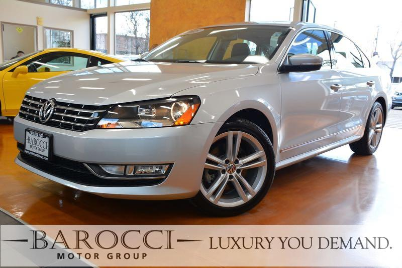 2015 Volkswagen Passat TDI SEL Premium 4dr Sedan 6A 6 Speed Auto Silver This is an immaculate on