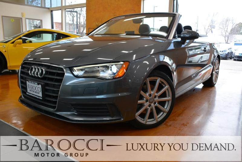 2015 Audi A3 20T quattro Premium AWD  2dr Conve 6 Speed Auto Gray We are excited to offer an im