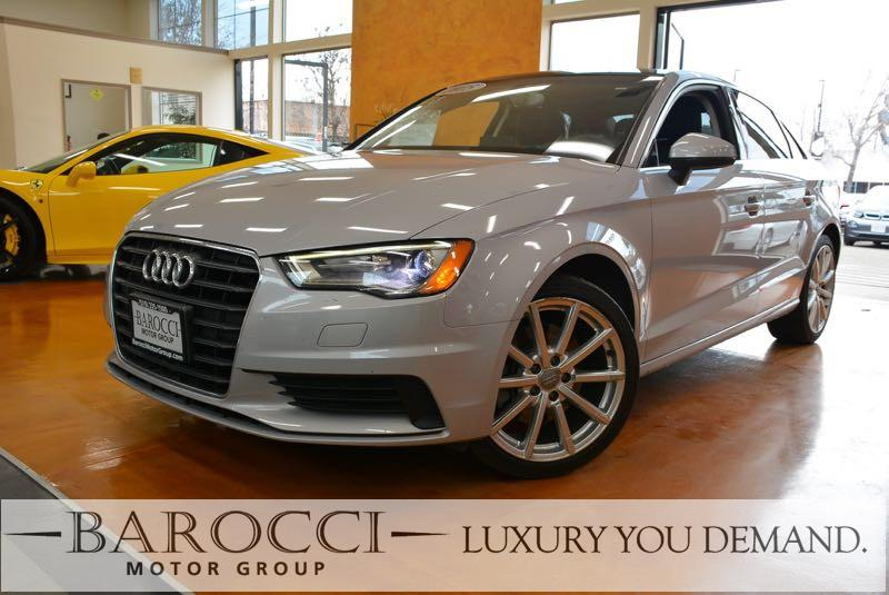 2015 Audi A3 18T Premium 4dr Sedan 6 Speed Auto Silver This is a beautiful one owner 2015 Audi