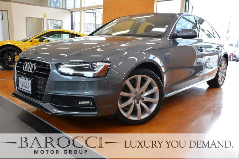 2014 Audi A4 20T Premium S Line Automatic CVT Gray We are excited to offer an excellent one own