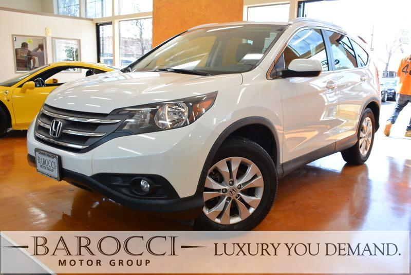 2013 Honda CR-V EX-L AWD  4dr SUV 5 Speed Auto White We are excited to offer this frontline read