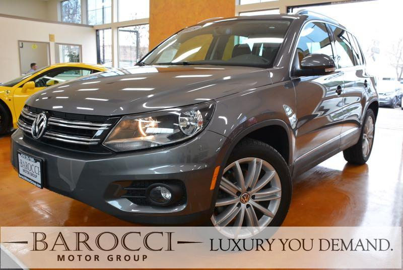 2015 Volkswagen Tiguan SEL 4dr SUV 6 Speed Auto Gray Now offering a beautiful one owner 2015 Vol