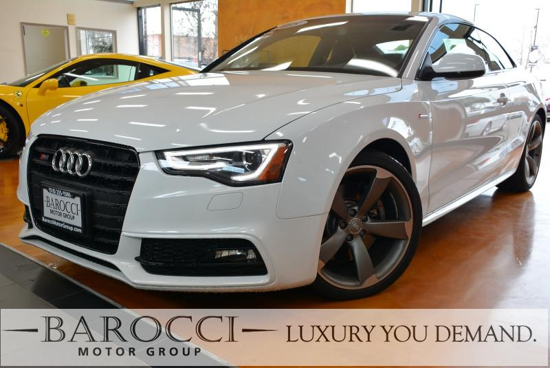 2015 Audi S5 30T quattro Premium AWD  2dr Coupe 7 Speed Auto White Now offering this frontline