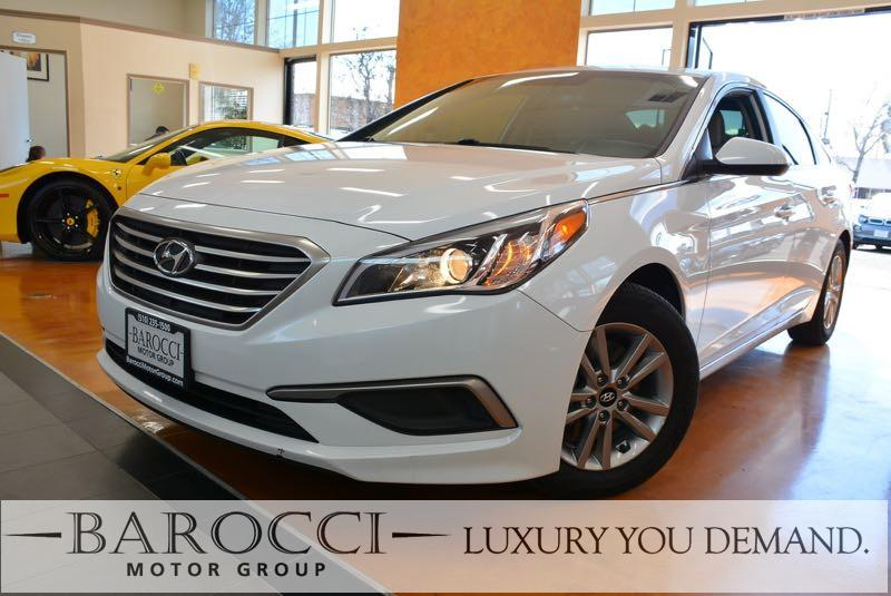 2016 Hyundai Sonata SE 4dr Sedan 6 Speed Auto White You are looking at a striking one owner 2016