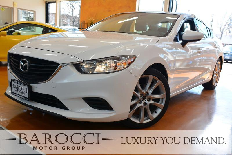 2015 Mazda Mazda6 i Touring 4dr Sedan 6A 6 Speed Auto White We are excited to offer a super nice