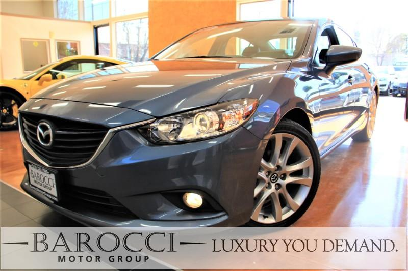 2015 Mazda Mazda6 i Touring 4dr Sedan 6A 6 Speed Auto Blue We are proud to offer an exquisite on