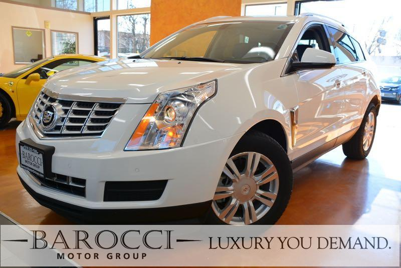 2016 Cadillac SRX Luxury Collection 4dr SUV 6 Speed Auto White Black This is an immaculate 2016