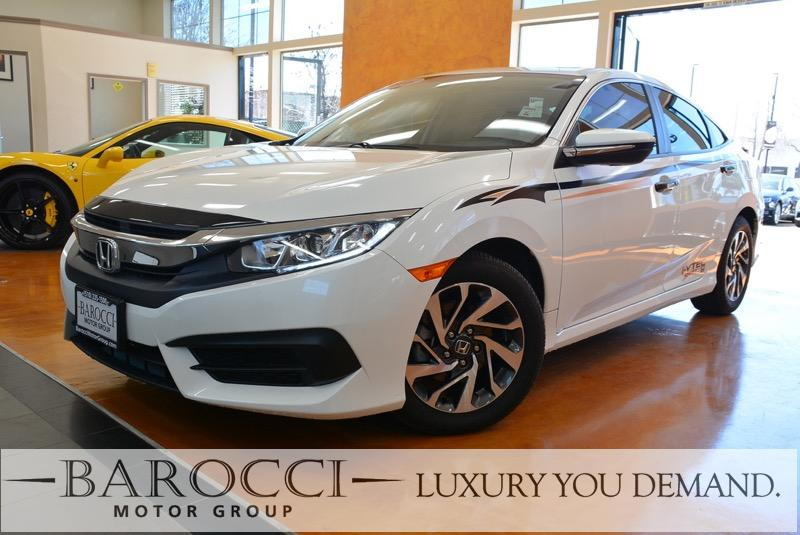 2016 Honda Civic EX 4dr Sedan Automatic White Gray We are excited to offer an outstanding one o