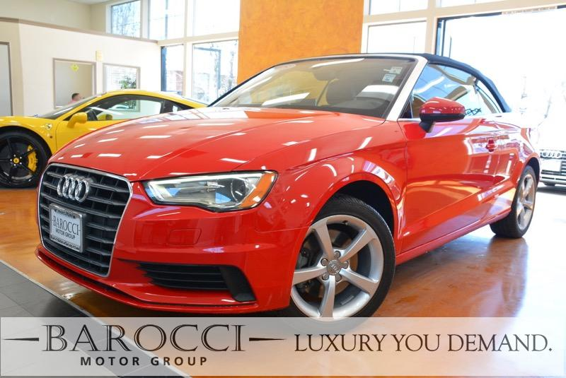 2015 Audi A3 18T Premium 2dr Convertible 6 Speed Auto Red Now for sale is an immaculate one own