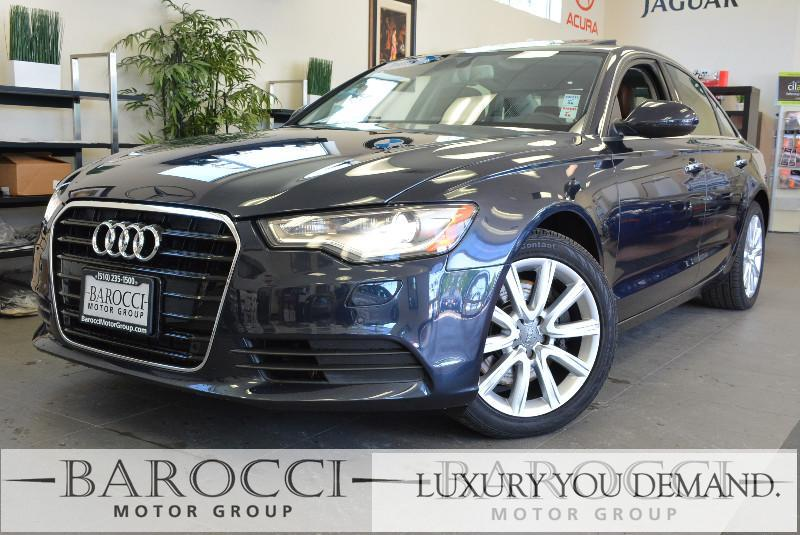 2015 Audi A6 20T Premium 4dr Sedan Automatic Blue Now offering a clean one owner 2015 Audi A6 2