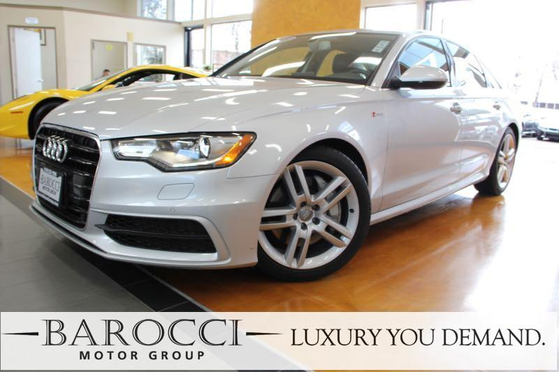 2015 Audi A6 20T Premium Plus 4dr Sedan Automatic Silver Up for sale is a delightful one owner