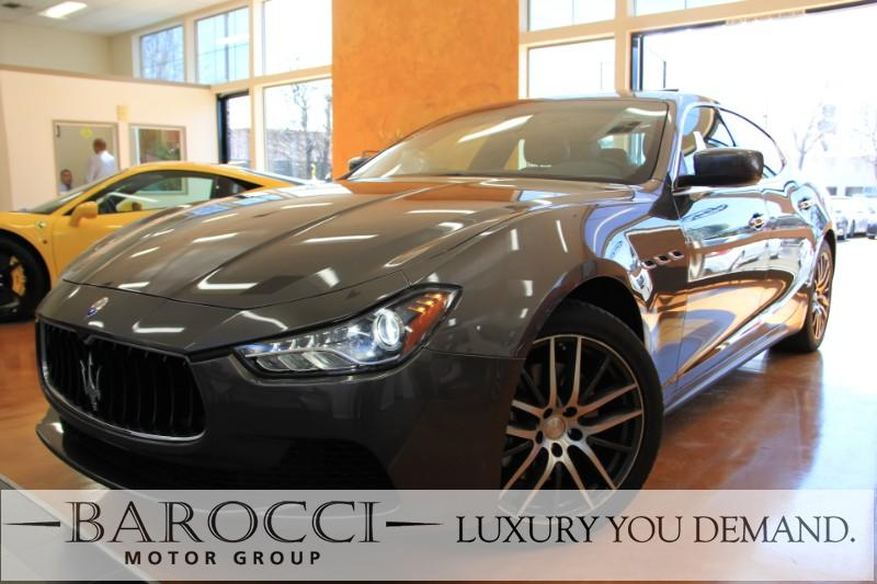 2014 Maserati Ghibli Base 4dr Sedan 8 Speed Auto Bronze Brown Now for sale is a terrific one ow
