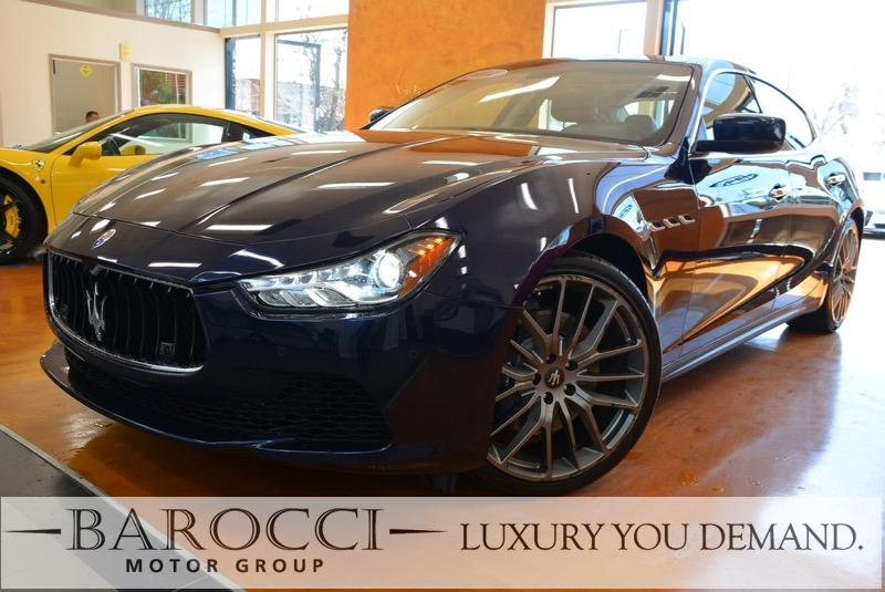 2014 Maserati Ghibli S Q4 AWD  4dr Sedan 8 Speed Auto Blue Black We are excited to offer an imm