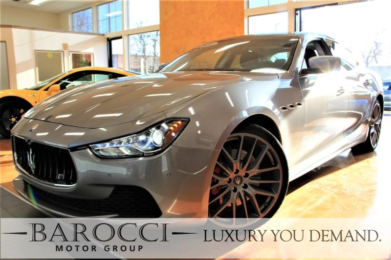 2014 Maserati Ghibli S Q4 AWD  4dr Sedan 8 Speed Auto Gray Black We are proud to offer a fabulo