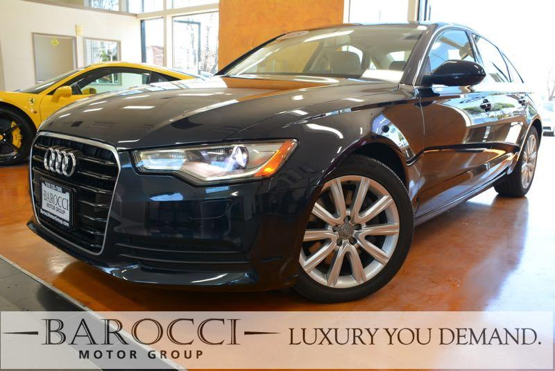 2015 Audi A6 20T Premium Plus 4dr Sedan Automatic Blue Luxury You Demand ABS Air Conditioning