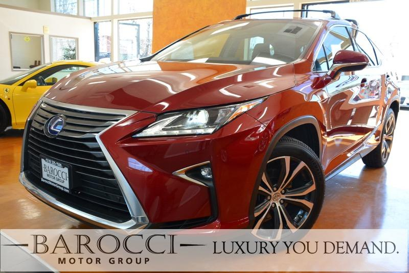 2016 Lexus RX 450h Base AWD 4dr SUV Automatic Red Up for sale is an exquisite one owner 2016 Lex