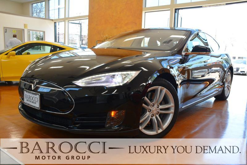 2015 Tesla Model S 85 4dr Liftback 1 Speed Auto Black We are proud to offer a delightful one own