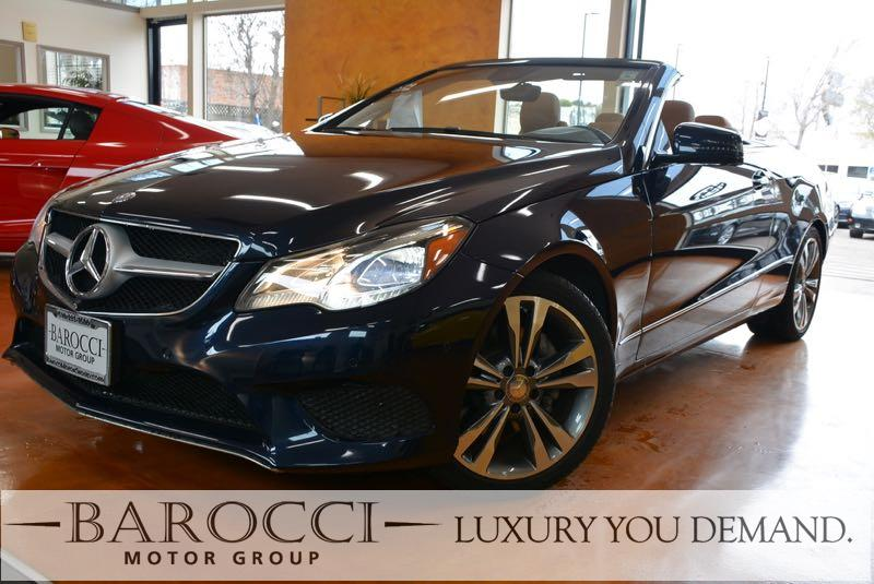 2015 MERCEDES E-Class E 400 2dr Convertible 7 Speed Auto Blue Brown You are looking at an immac