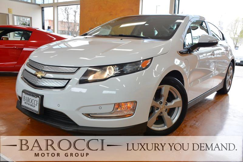 2014 Chevrolet Volt Premium 4dr Hatchback 1 Speed Auto White You are looking at a wonderful one