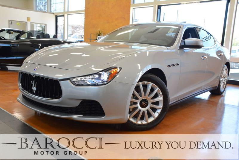 2014 Maserati Ghibli Base 4dr Sedan 8 Speed Auto Silver We are pleased to offer this fantastic o