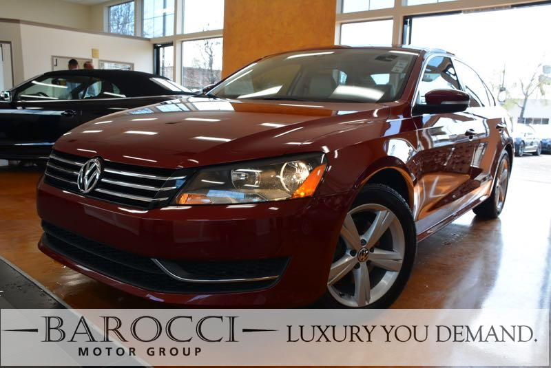2015 Volkswagen Passat SE PZEV 4dr Sedan 6A 6 Speed Auto Red Now offering a beautiful one owner