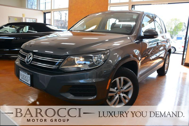 2014 Volkswagen Tiguan S 4dr SUV 6A 6 Speed Auto Gray We are pleased to offer this frontline rea