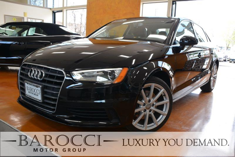 2015 Audi A3 18T Premium 4dr Sedan 6 Speed Auto Black This is a superb one owner 2015 Audi A3 1