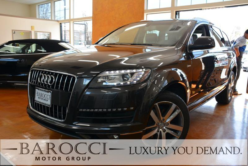 2015 Audi Q7 30T quattro Premium Plu AWD 8 Speed Auto Gray Now offering a beautiful one owner 2