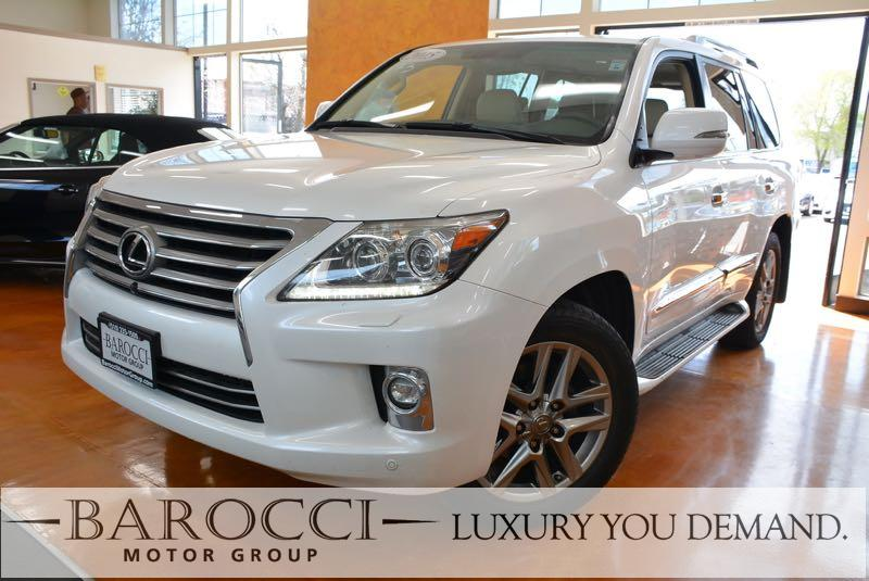 2015 Lexus LX 570 Base AWD 4dr SUV 6 Speed Auto White You are looking at a sublime one owner 201