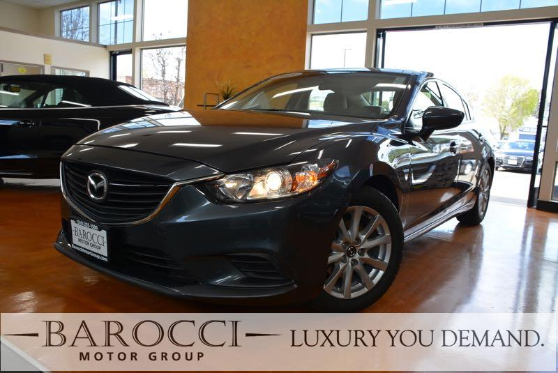 2015 Mazda Mazda6 i Sport 4dr Sedan 6A 6 Speed Auto Gray Now offering this fantastic one owner 2
