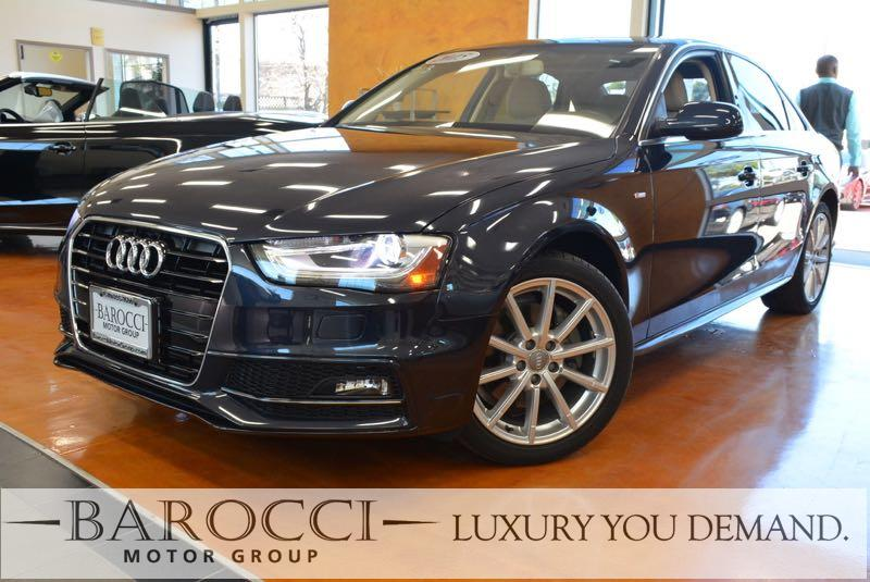 2015 Audi A4 20T Premium Plus 4dr Sedan Automatic CVT Blue Now offering a striking one owner 20