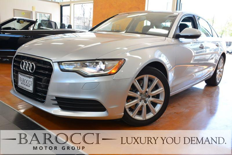 2015 Audi A6 20T Premium 4dr Sedan Automatic Silver Now for sale is a beautiful one owner 2015