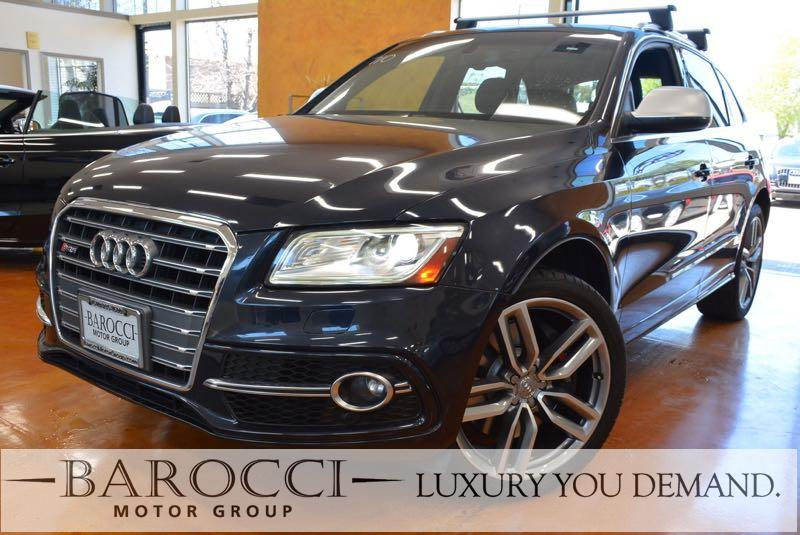2014 Audi SQ5 30T quattro Premium AWD  4dr SUV 8 Speed Auto Blue We are excited to offer this f