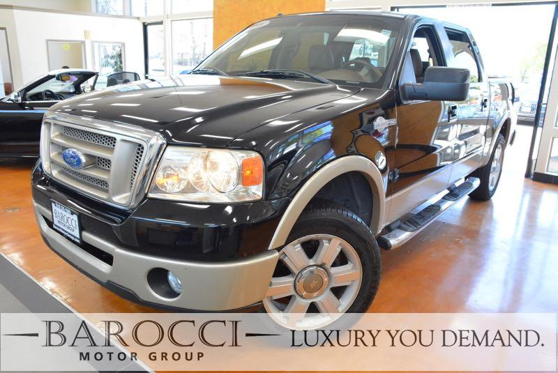2008 Ford F-150 King Ranch 4x2  4dr SuperCrew Style 4 Speed Auto Black We are pleased to offer a