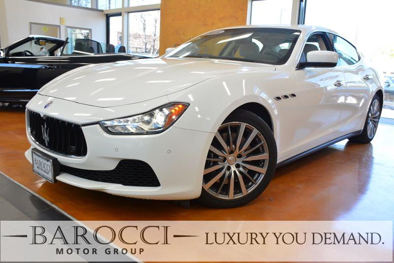 2015 Maserati Ghibli S Q4 AWD  4dr Sedan 8 Speed Auto White You are looking at this frontline re