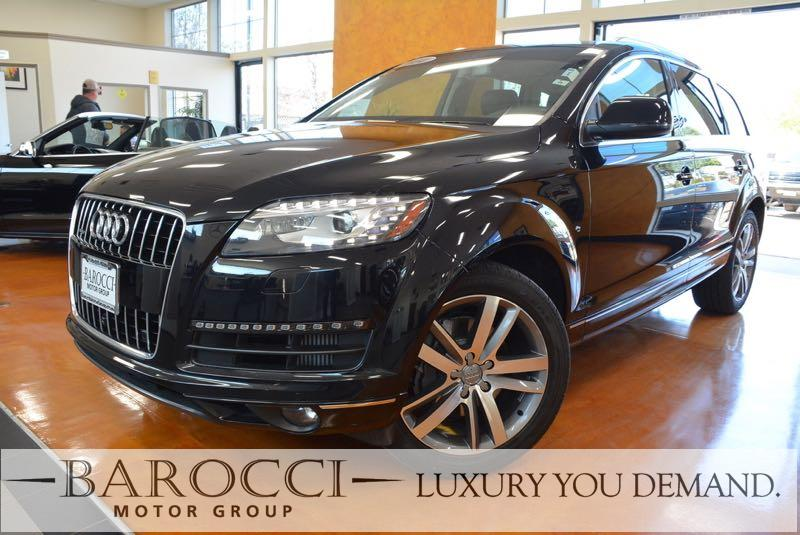 2014 Audi Q7 30 quattro TDI Pres AWD  4dr SUV 8 Speed Auto Black We are excited to offer a very