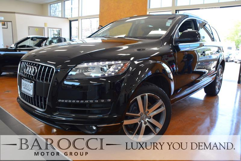 2015 Audi Q7 30quattro TDI Prem Plus AWD 8 Speed Auto Black Now for sale is this frontline read