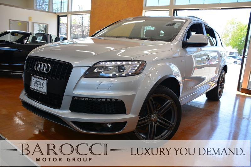 2015 Audi Q7 30 quattro TDI Pres AWD  4dr SUV 8 Speed Auto Silver We are pleased to offer a str