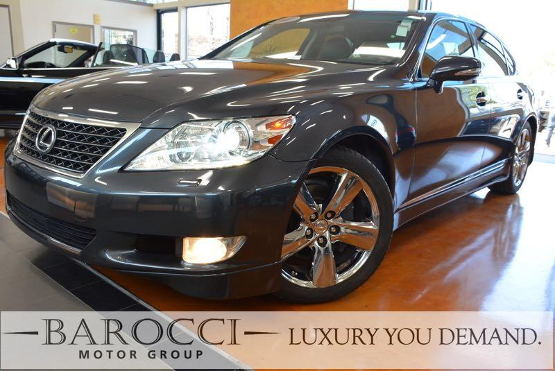 2011 Lexus LS 460 Base 4dr Sedan 8 Speed Auto Gray We are proud to offer a striking one owner 20