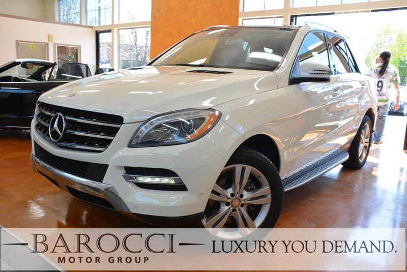 2013 MERCEDES M-Class ML 350 BlueTEC AWD  4MATIC 4dr SUV 7 Speed Auto White Up for sale is a fab